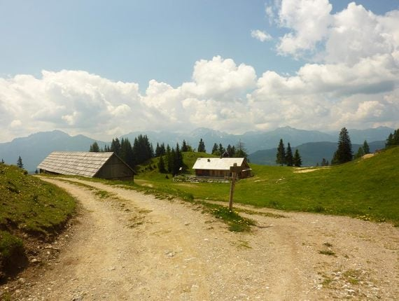 Mountainbike-Tour am Weissensee